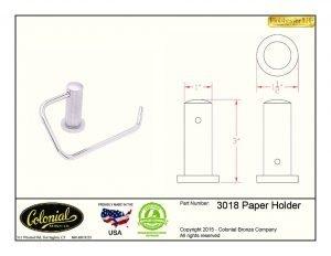 thumbnail of 3018 paper holder