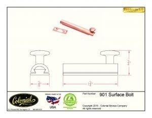 thumbnail of 901 surface bolt