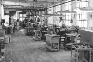 Buffing line sometime between 1943-53