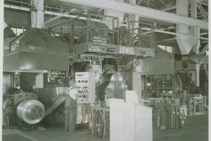 The interior of the current factory in 1930